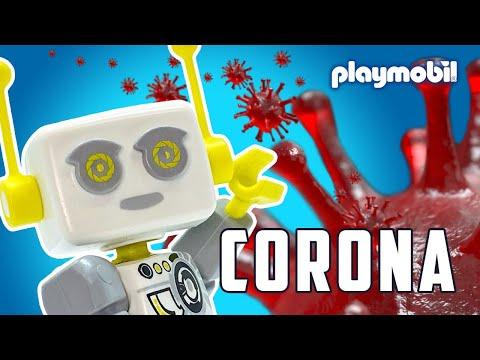ROBert explica el coronavirus a los niños   PLAYMOBIL en Español