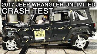 2017 Jeep Wrangler Unlimited Frontal Crash Test