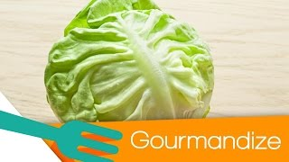 How To Core Iceberg Lettuce In Seconds - Gourmandize