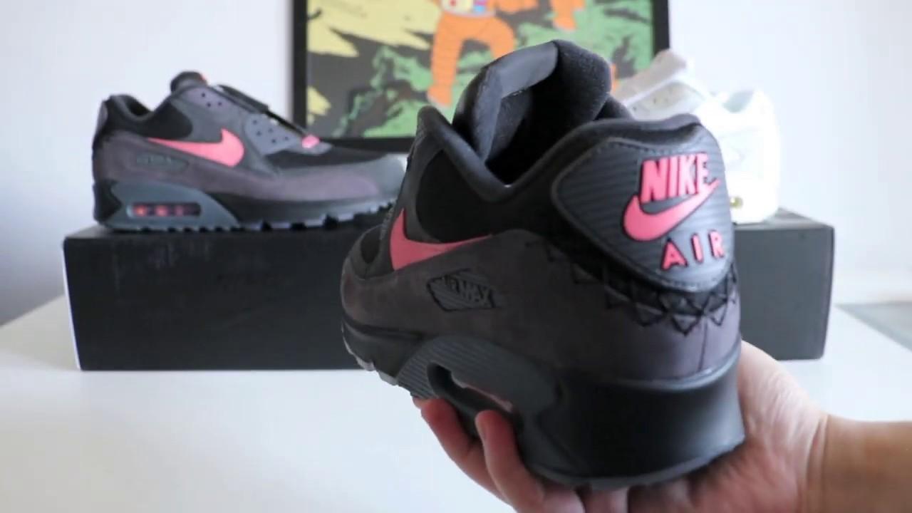 Nike Air Max 90 Side B REVIEWON FEET by Sari Qasem