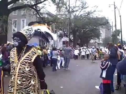 Zulu Parade: Mardi Gras 2011 in New Orleans