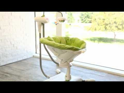 Fisher Price I Glide Cradle Baby Swing - Product Review Video