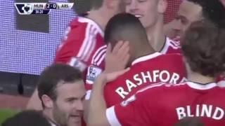 Манчестер Юнайтед 3 2 Арсенал   Чемпионат Англии 2015 16   ОБЗОР МАТЧА 28 02 16(ПОДПИСЫВАЙСЯ ..., 2016-03-01T12:13:01.000Z)