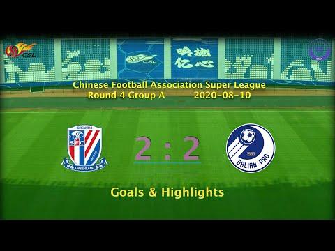 [CSL] 20200810 Round 4 Group A Shanghai Shenhua 2-2 Dalian Professional