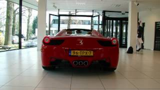 Ferrari 458 SPIDER - Part 1: picking it up! (HD)