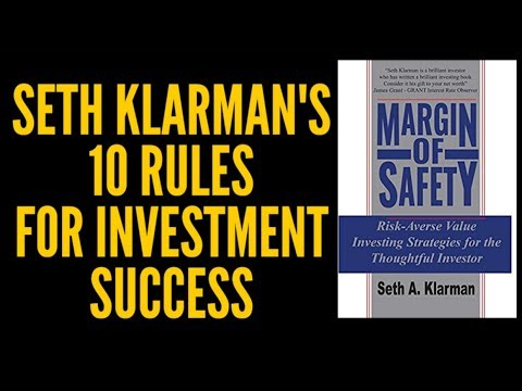 Margin of Safety - Seth Klarman's 10 Rules for Investing Success