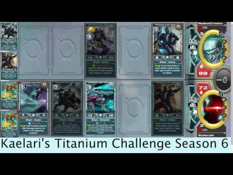 Kaelari's Titanium Solforge Challenge Season 6 FINALS with commentary.
