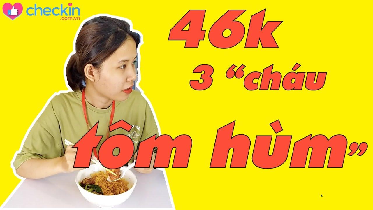 """3 """"cháu TÔM HÙM"""" chỉ 46k - San San mì gà quay - Trưa nay ăn gì!"""