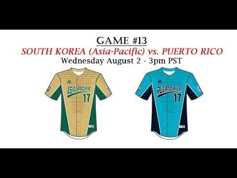 2017 Intermediate World Series - Game 13: Asia Pacific vs Puerto Rico