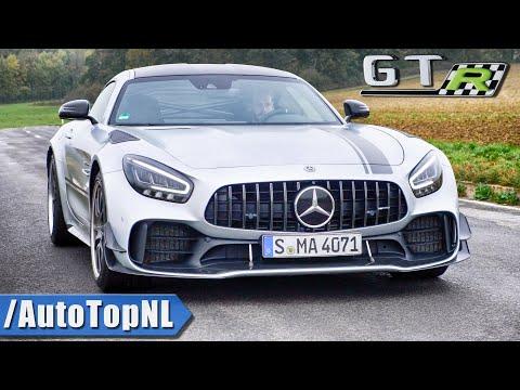 Mercedes AMG GTR PRO   LOUD! Exhaust SOUND Revs & ONBOARD By AutoTopNL