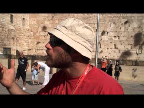The Western Wall tour guide explains