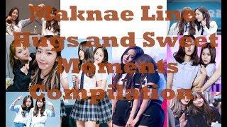 여자 친구(Gfriend) Maknae Line(UmB) Hugs & Sweet Moments Compilation