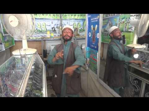 Funny man dancing, Baghlan Afghanistan