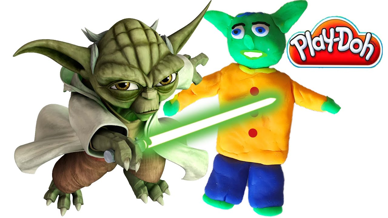 Star Wars Clay Animated Play doh Created For kids Claymation
