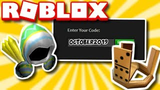 *OCTOBER* ALL WORKING PROMO CODES IN ROBLOX