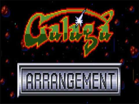Uchu-Flower Zone - Galaga Arrangement Music Extended