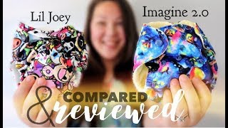 Lil Joey VS Imagine Bamboo 2.0 AIO: NEWBORN DIAPERS COMPARED & REVIEWED