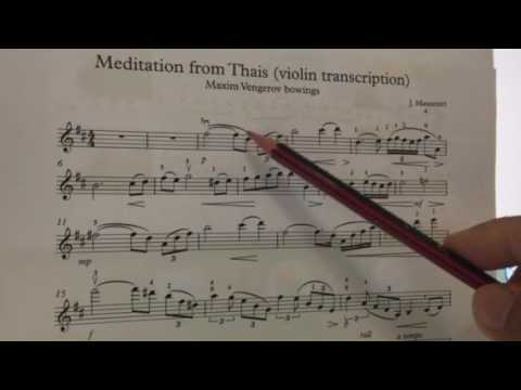 How to play Meditation from Thais