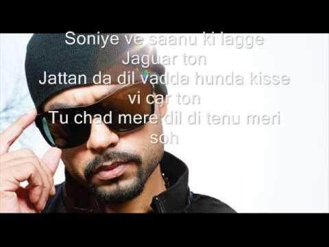 jaguar song lyrics  Bohemia, Muzical Doctorz SukhE