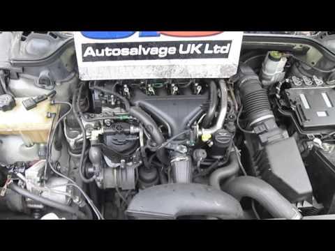 EUGEOT 407 2.0 HDI DIESEL ENGINE  | CODE: RHR  2004-2010 LOW MILES + WARRANTY!