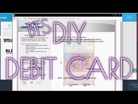 BTS Custom Debit Card - BTS DIY