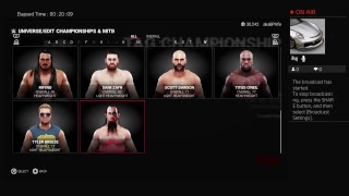 WWE 2K19 stream: Reorganization of myUniverse power rankings