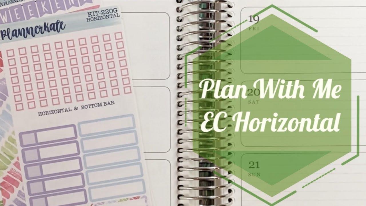2015-2016 Erin Condren Life Planner Overview- Vertical vs