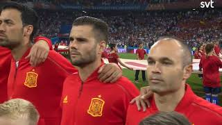 Anthem of Spain vs Portugal World Cup 2018