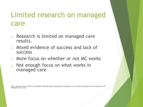 Managed Care Organizations Video