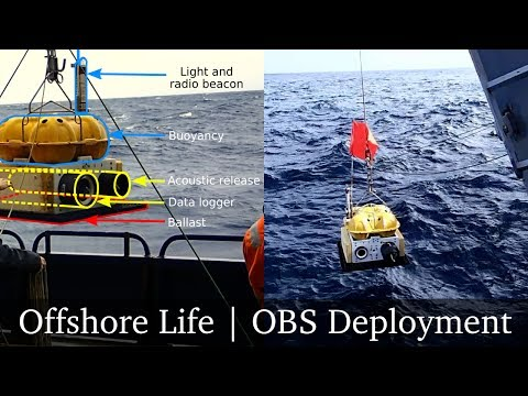 Deploying ocean bottom seismometers (nodes) in the Atlantic Ocean | Offshore Life