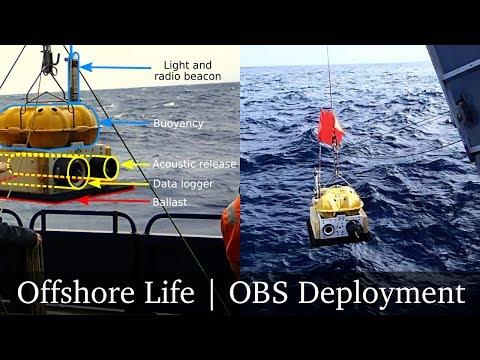 Deploying ocean bottom seismometers (nodes) in the Atlantic Ocean | Offshore Life