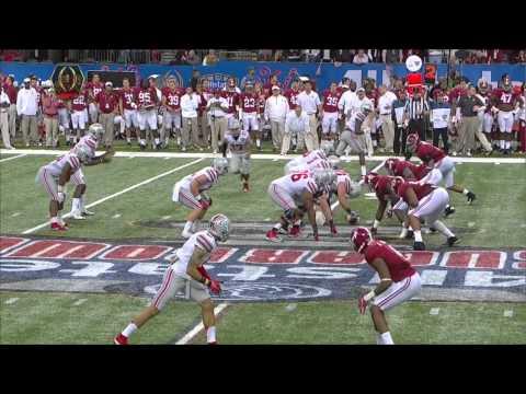 2014-15 Sugar Bowl - #4 Ohio State Vs. #1 Alabama (HD)