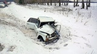 RUSSIA Car CRASH Compilation 2013 January All NEW! (Part 6)