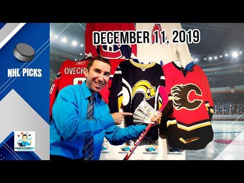 3 NHL System Picks (including A 5-star Play!!) By Stats University Professor (Wednesday December 11)