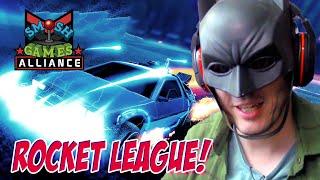 BATMAN VS DELOREAN: ROCKET LEAGUE OF JUSTICE (Bonus Vlogs)