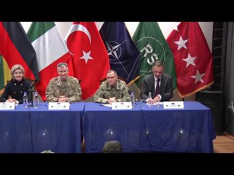 DFN: NATO's Commitment to Afghanistan, KABUL, AFGHANISTAN, 03.03.2018