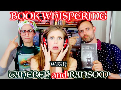 BOOK WHISPERING WITH TAHEREH MAFI & RANSOM RIGGS