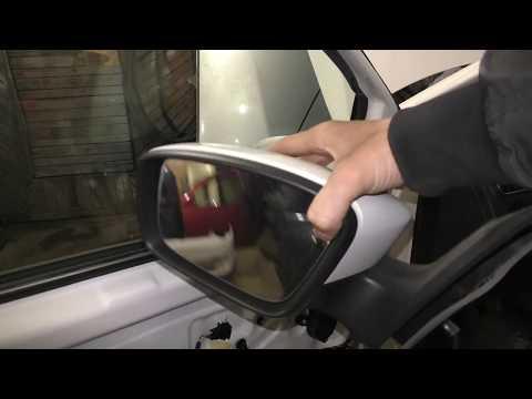 VW Polo Sedan - Замена зеркала заднего вида