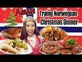 Asian Trying Norwegian Christmas Food 2