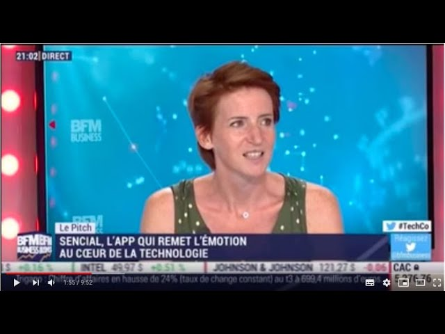 Senscial - BFM Business - Tech & Co : le PITCH - 2 Juillet 2018