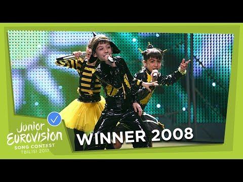 JUNIOR EUROVISION 2008: BZIKEBI - BZZZ - GEORGIA 🇬🇪  - WINNER