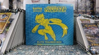 Pokemon TCG: Sun & Moon Lost Thunder Zeraora Elite Trainer Box Opening