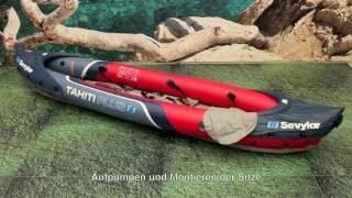 Sevylor® Tahiti™ Plus - aufblasbares 2+1 Personen Kajak - DE