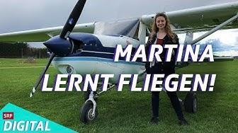 Martina fliegt! Im echten Flugzeug (3/3)