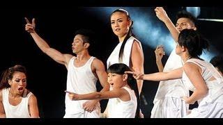 Baru!! Agnes Monica ft. Chloe X at Ayo Indonesia Bisa