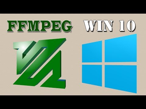 Easy Way Install FFMPEG in Windows 10 (100% Work) 2018