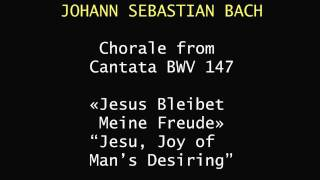 "HYMNOVISION: J. S Bach, ""Jesu, Joy of Man"
