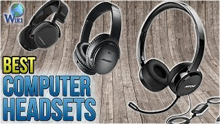 10 Best Computer Headsets 2018