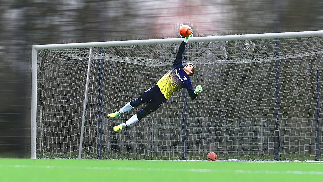 Strange Sports Rules goalkeeper