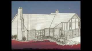 English Tudor Design Perspective (Pink Houses music)